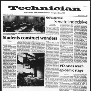 Technician, Vol. 57 No. 16, October 4, 1976