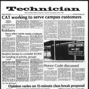 Technician, Vol. 57 No. 38, December 1, 1976