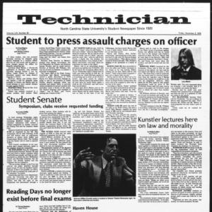 Technician, Vol. 57 No. 39, December 3, 1976