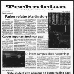 Technician, Vol. 57 No. 40, December 6, 1976