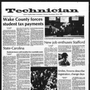 Technician, Vol. 57 No. 44, January 15, 1977