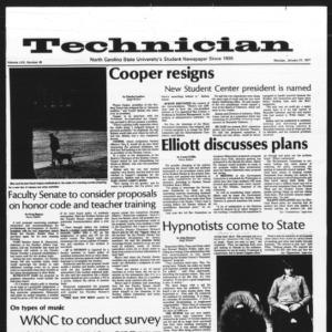 Technician, Vol. 57 No. 45, January 17, 1977