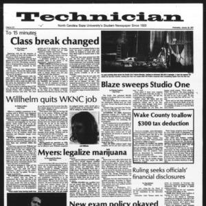 Technician, Vol. 57 No. 46, January 19, 1977