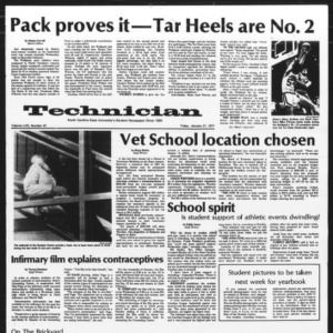 Technician, Vol. 57 No. 47, January 21, 1977