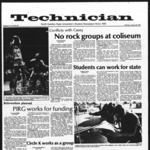 Technician, Vol. 57 No. 48, January 24, 1977