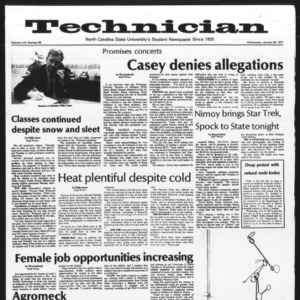 Technician, Vol. 57 No. 49, January 26, 1977