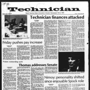 Technician, Vol. 57 No. 50, January 28, 1977