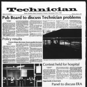 Technician, Vol. 57 No. 51, January 31, 1977