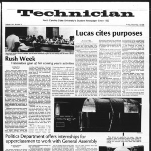 Technician, Vol. 57 No. 6, September 10, 1976