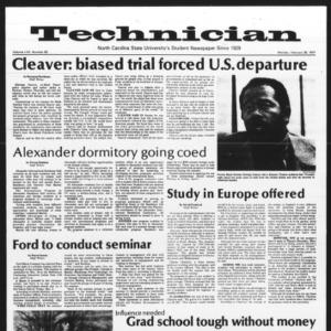 Technician, Vol. 57 No. 63, February 28, 1977