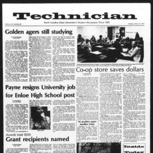 Technician, Vol. 57 No. 66, March 14, 1977