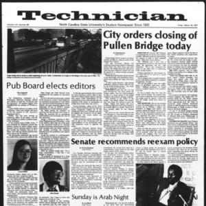 Technician, Vol. 57 No. 68, March 18, 1977