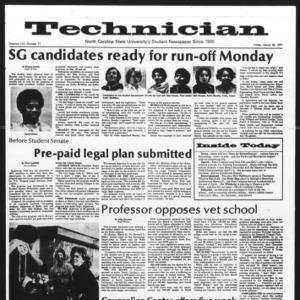 Technician, Vol. 57 No. 71, March 25, 1977