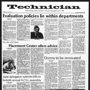 Technician, Vol. 57 No. 72, March 28, 1977