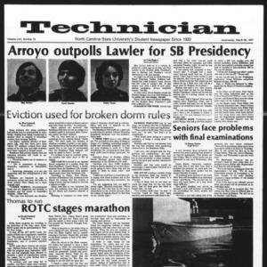 Technician, Vol. 57 No. 73, March 30, 1977