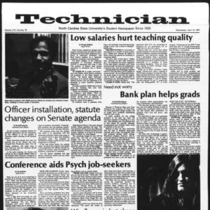 Technician, Vol. 57 No. 78, April 13, 1977