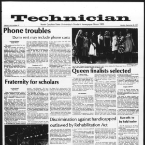 Technician, Vol. 58 No. 13, September 26, 1977