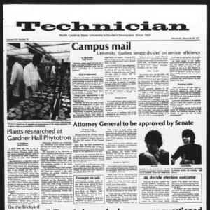 Technician, Vol. 58 No. 14, September 28, 1977