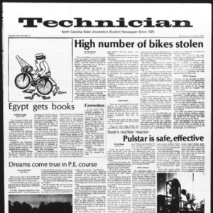 Technician, Vol. 58 No. 17, October 5, 1977