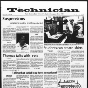 Technician, Vol. 58 No. 19, October 10, 1977