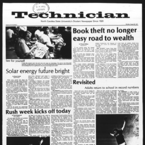 Technician, Vol. 58 No. 2, August 29, 1977