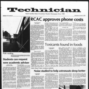 Technician, Vol. 58 No. 20, October 12, 1977