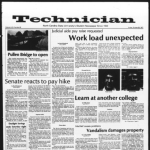 Technician, Vol. 58 No. 26, October 28, 1977