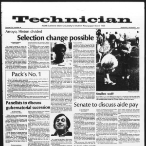Technician, Vol. 58 No. 28, November 2, 1977