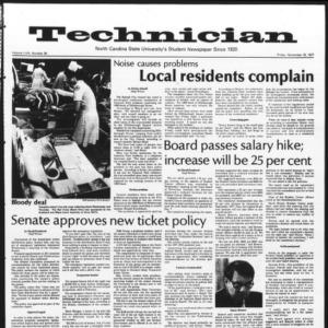 Technician, Vol. 58 No. 35, November 18, 1977