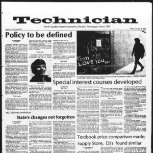 Technician, Vol. 58 No. 45, January 13, 1978