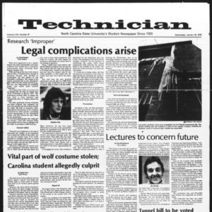 Technician, Vol. 58 No. 47, January 18, 1978
