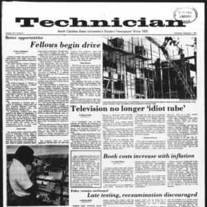 Technician, Vol. 58 No. 5, September 7, 1977