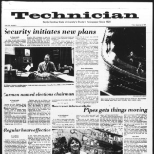 Technician, Vol. 58 No. 6, September 9, 1977