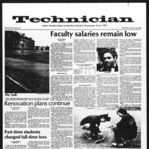 Technician, Vol. 58 No. 61 [62], February 22, 1978