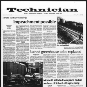 Technician, Vol. 58 No. 67, March 13, 1978