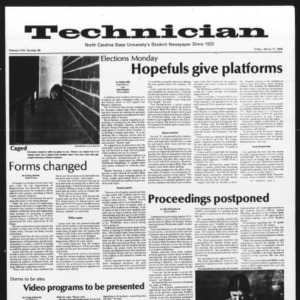 Technician, Vol. 58 No. 69, March 17, 1978