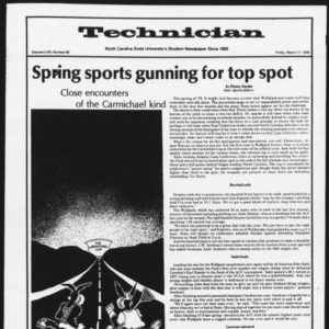 Technician, Vol. 58 No. 69 [Sports Special], March 17, 1978