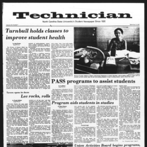 Technician, Vol. 58 No. 7, September 12, 1977