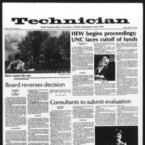 Technician, Vol. 58 No. 72, March 24, 1978