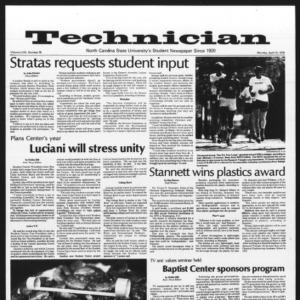 Technician, Vol. 58 No. 78, April 10, 1978