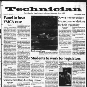Technician, Vol. 59 No. 15, September 29, 1978