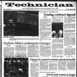 Technician, Vol. 59 No. 2, August 28, 1978