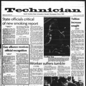 Technician, Vol. 59 No. 48, January 22, 1979