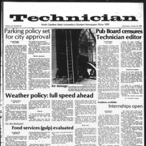 Technician, Vol. 59 No. 49, January 24, 1979