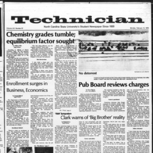Technician, Vol. 59 No. 57, February 12, 1979