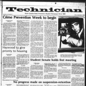 Technician, Vol. 59 No. 6, September 8, 1978