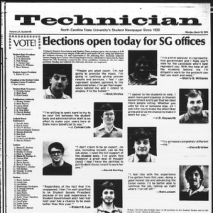 Technician, Vol. 59 No. 69, March 19, 1979