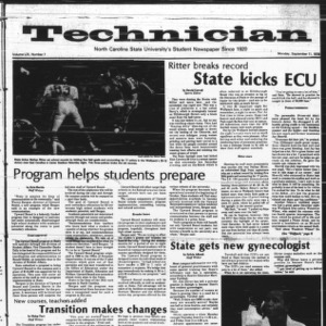 Technician, Vol. 59 No. 7, September 11, 1978
