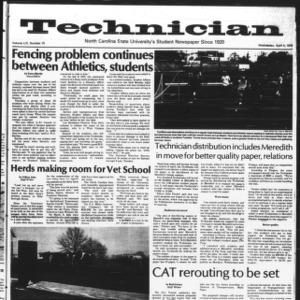 Technician, Vol. 59 No. 75, April 4, 1979