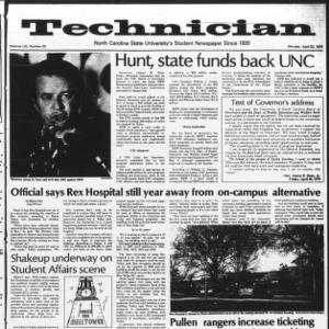 Technician, Vol. 59 No. 82, April 23, 1979